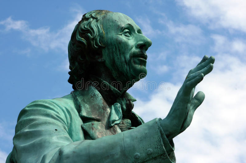 Hans Christian Andersen stockfotos