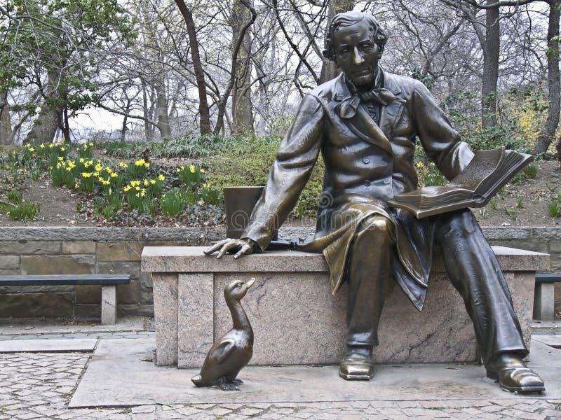 Hans Christian Andersen stock afbeelding