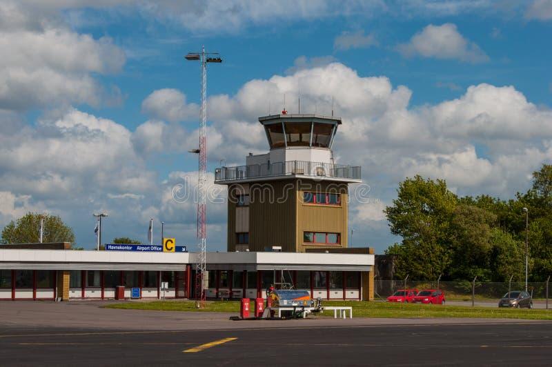 Hans Christian Andersen Airport fotografia de stock