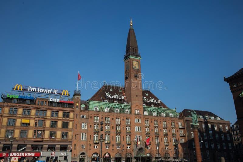 Hans Christian Andersen bajki dom obrazy royalty free