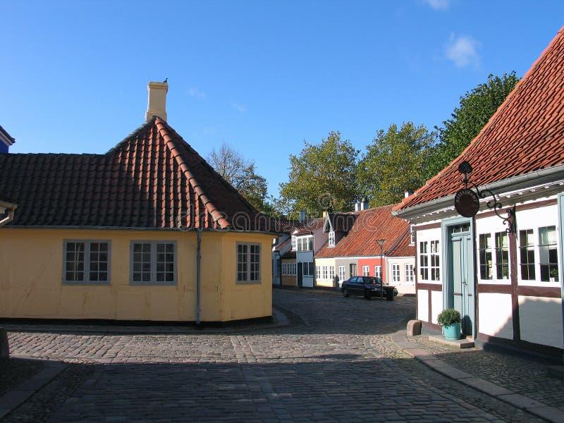 Hans Christian Andersen house. Hometown Odense Denmark stock image