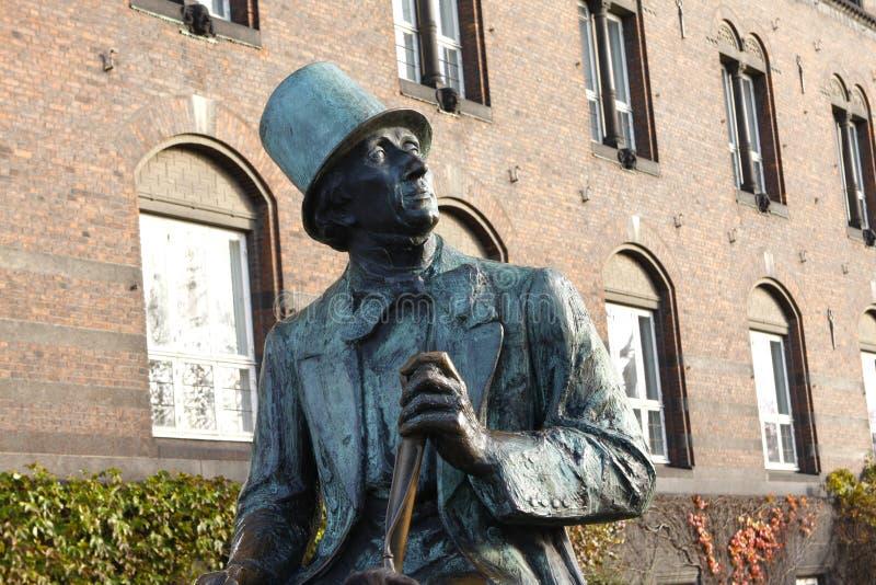 Hans Christian Andersen - Köpenhamn royaltyfria foton