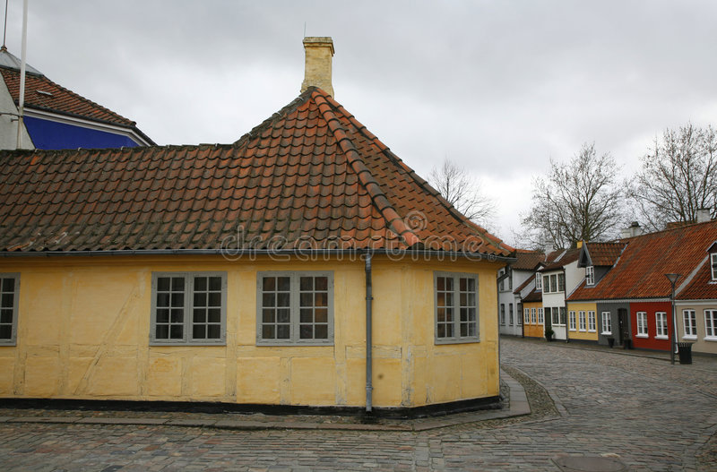 Hans Christian Andersen?s House stock foto's