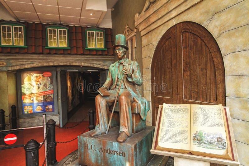 Hans Christian Andersens in het Museum royalty-vrije stock foto