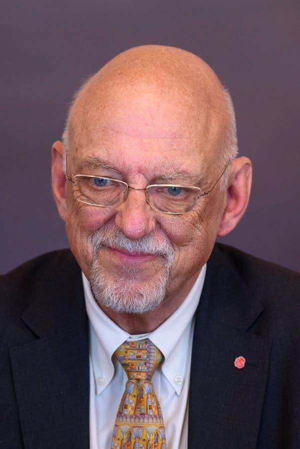 Hans Dahlgren, ministro para casos da UE da Suécia foto de stock