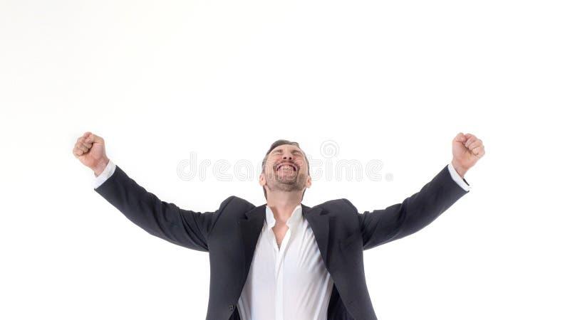 hans luftclippinghänder inkluderar joyously kast för manbanasilhouette upp barn royaltyfri foto