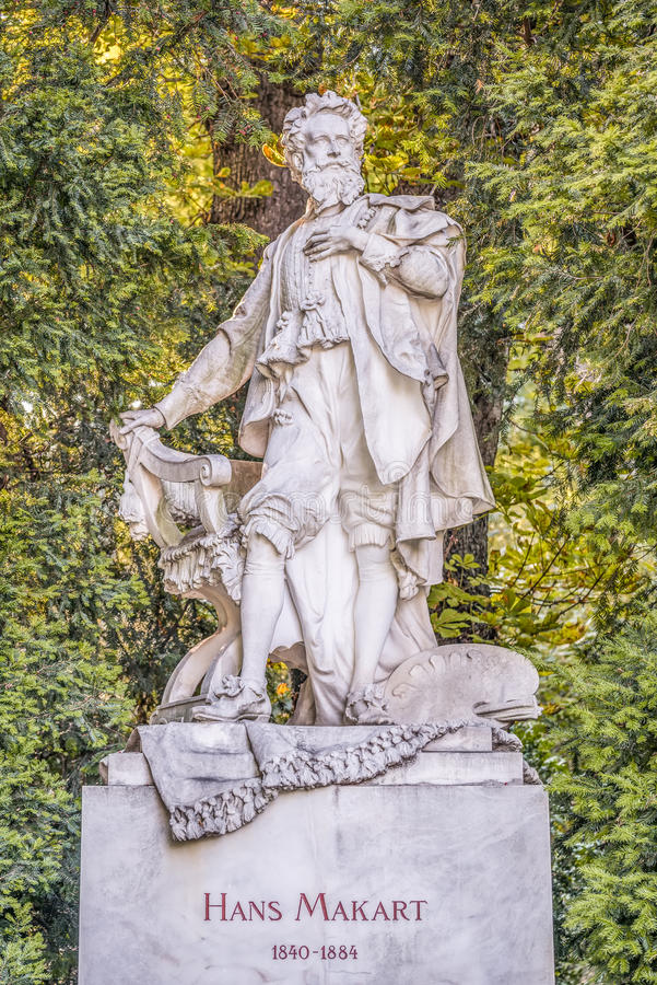 Free Hans Makart Bust In Stadtpark, Vienna Royalty Free Stock Photo - 43419385