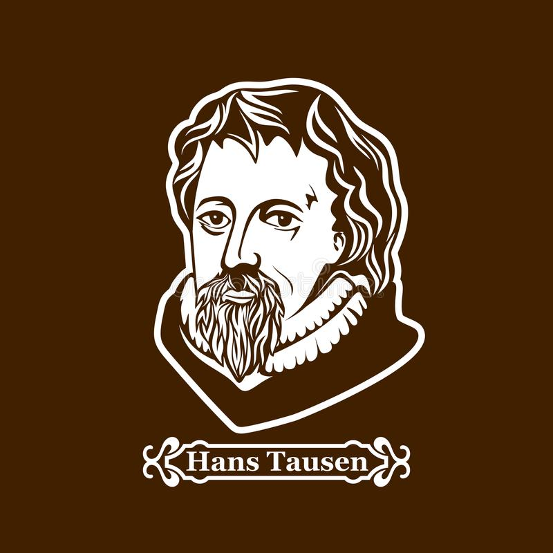 Hans Tausen protestantism Lidery Europejska reformacja ilustracji