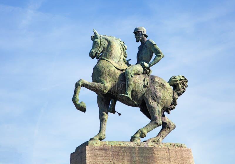 Hans Waldmann-standbeeld, Zürich royalty-vrije stock fotografie