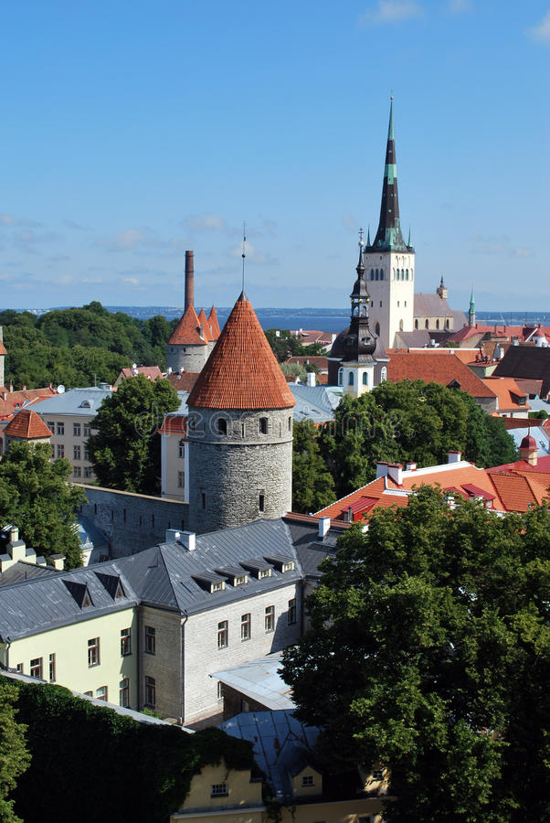 Download Hansa town stock photo. Image of building, bright, nordic - 13411410
