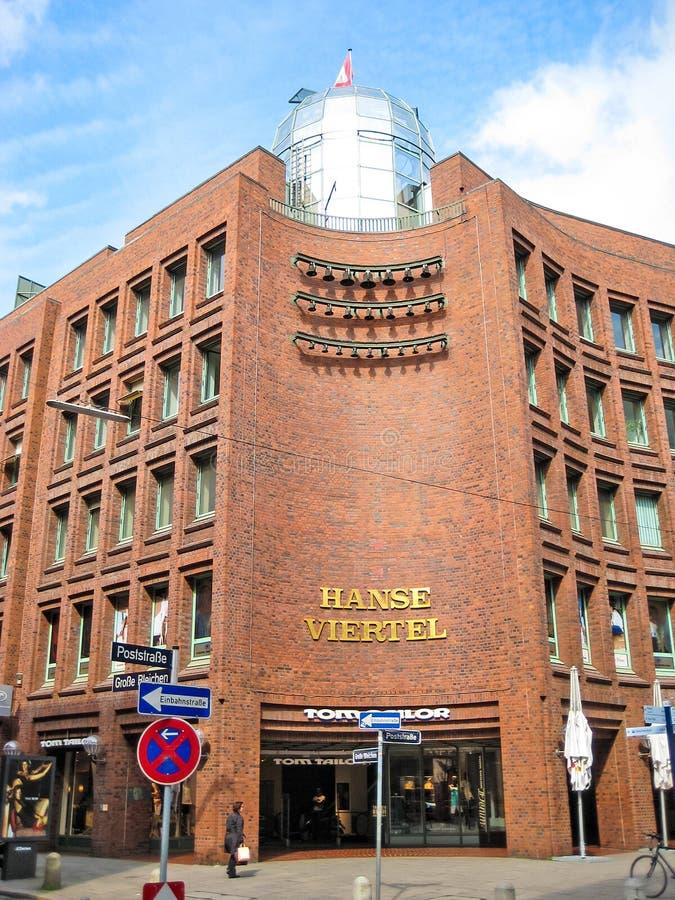 Hansaviertel Гамбург стоковые фотографии rf