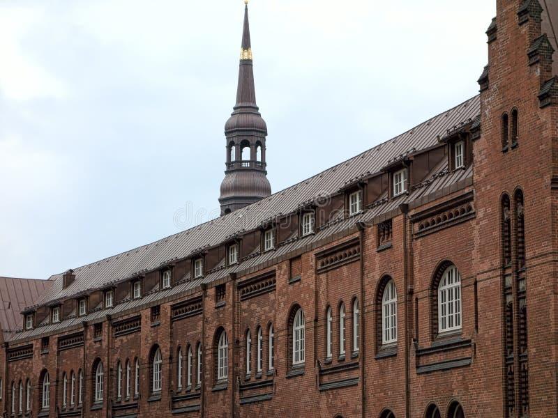 Hanseatic arkitektur royaltyfria foton