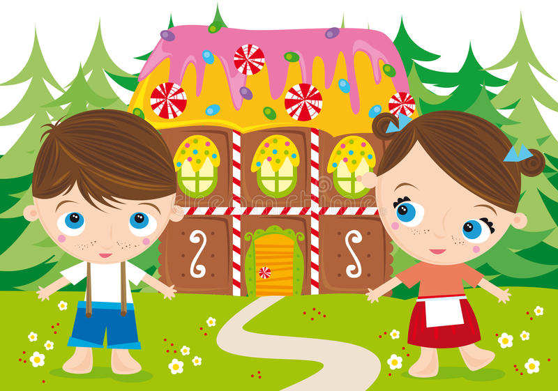 Hansel y gretel libre illustration