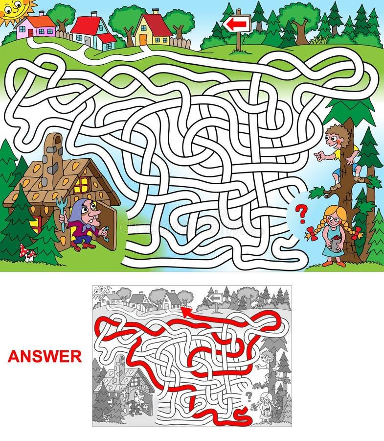 Hansel y Gretel (paisaje) libre illustration
