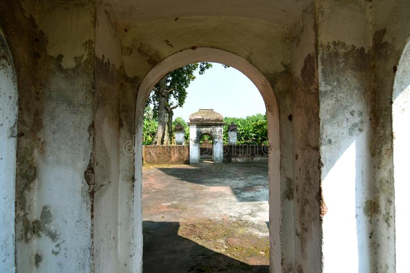 Hanseshwari Temple Hooghly West Bengal Índia imagem de stock royalty free