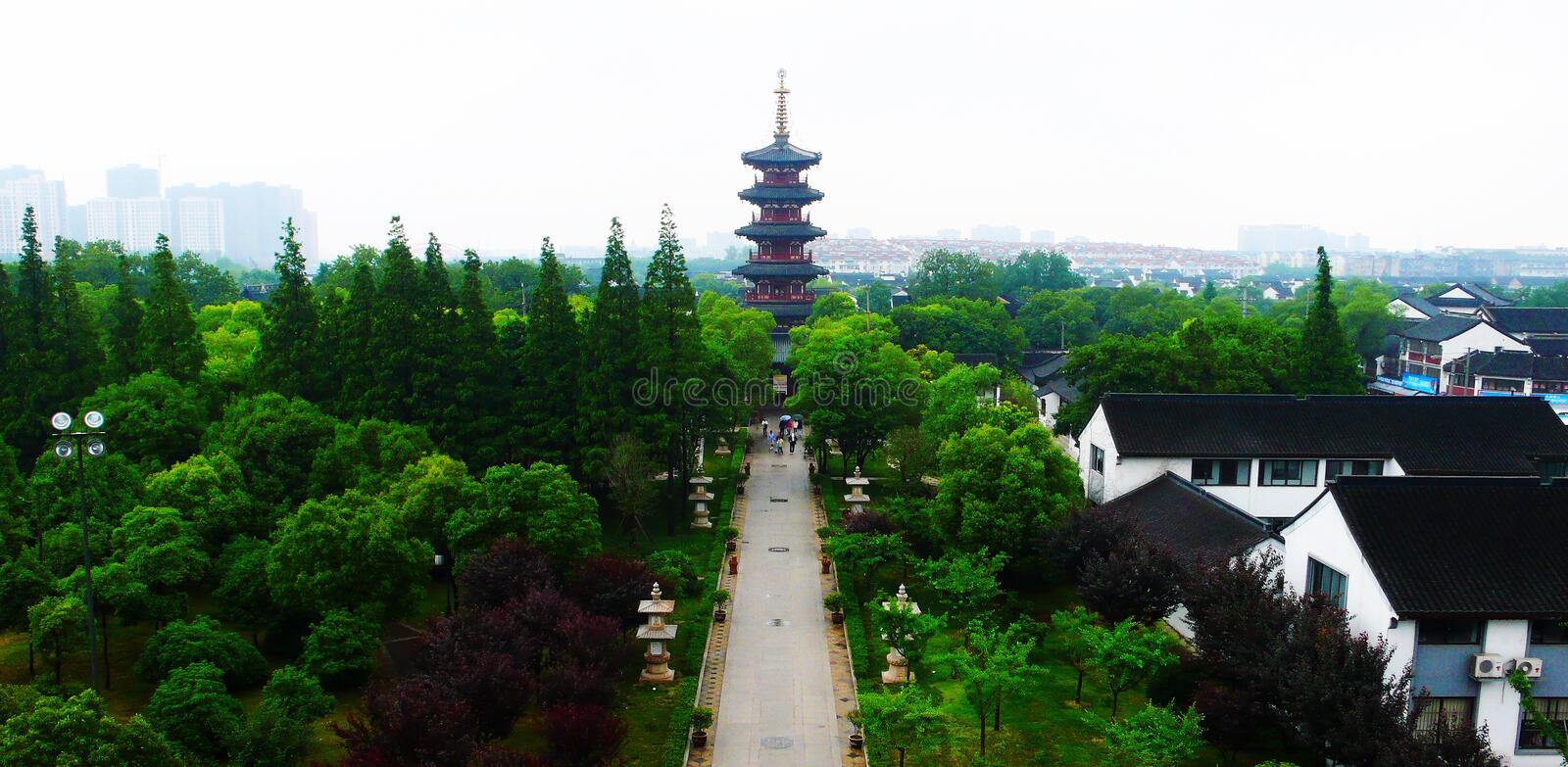 Hanshan Temple stock photos