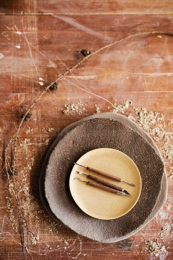 Hantverkknivar och skärare arkivbild