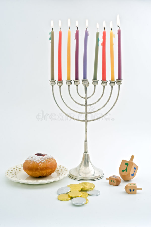 Hanukka photo stock