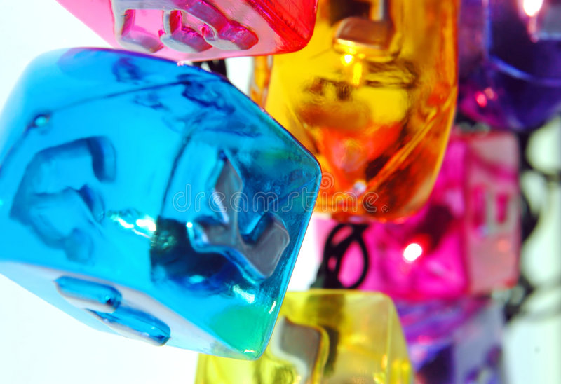 hanukkah światła zdjęcia stock