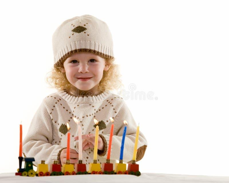 hanukkah счастливый стоковая фотография