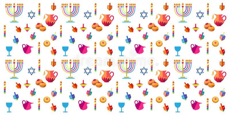 hanukkah stock illustrationer