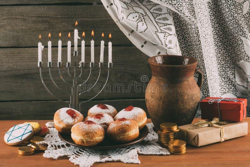 hanukkah zdjęcie royalty free