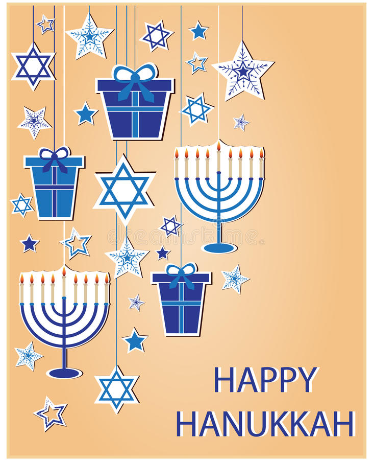 hanukkah stock illustrationer