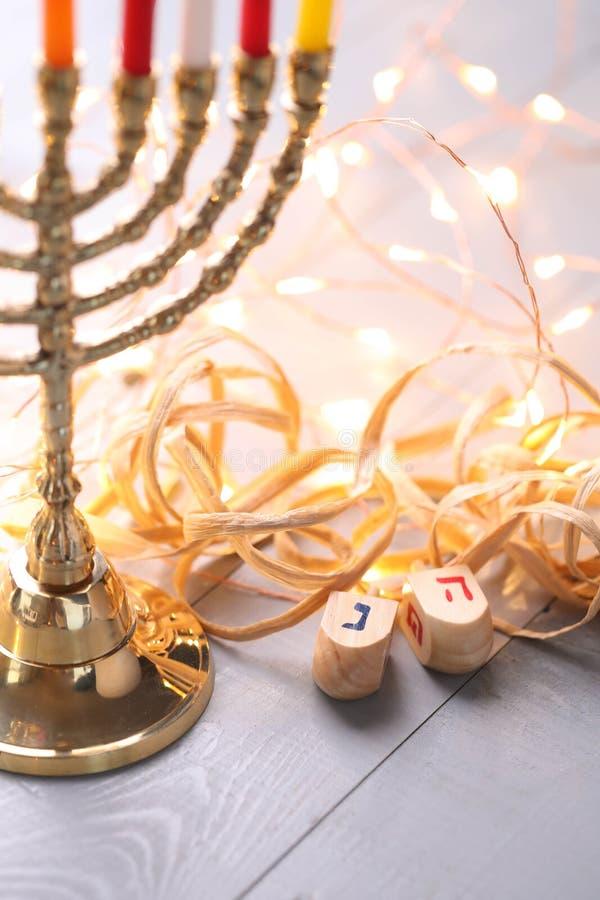 hanukkah fotografia stock libera da diritti