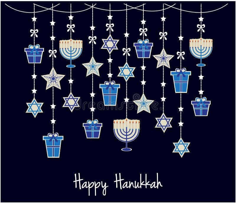 hanukkah ilustração royalty free