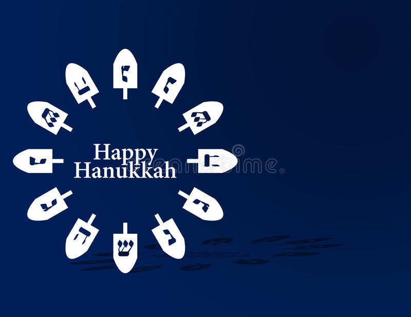 Download Hanukkah Background stock illustration. Illustration of sign - 10457626