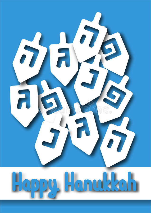 Hanukkah Greeting Card Stock Vector Image Of Holiday