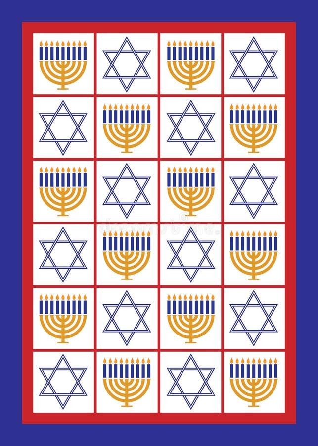 Hanukkah-Karte