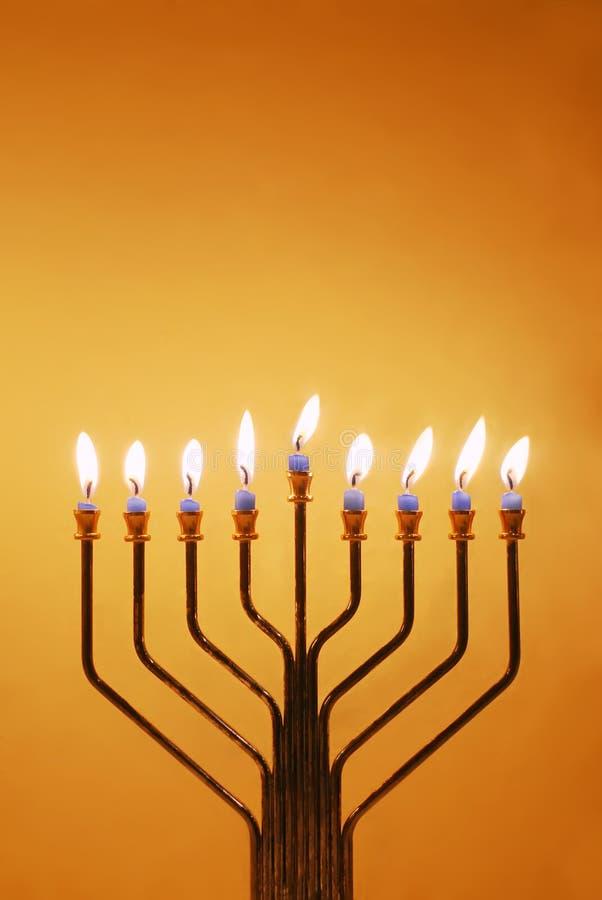 hanukkah menorah zdjęcie royalty free