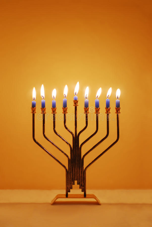 Download Hanukkah Menorah Royalty Free Stock Photos - Image: 21455438