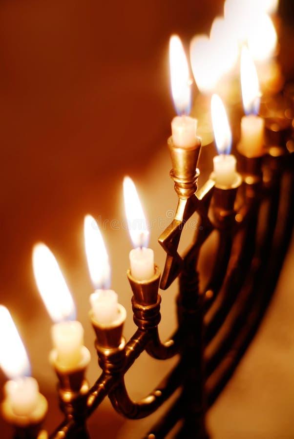 Hanukkah Menorah photographie stock libre de droits