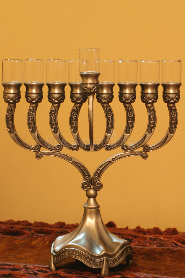 Download Hanukkah menorah stock photo. Image of ritual, judaism - 292234
