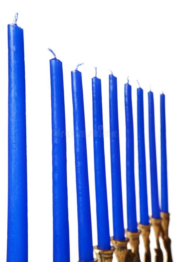 Hanukkah menorah Kerzen getrennt