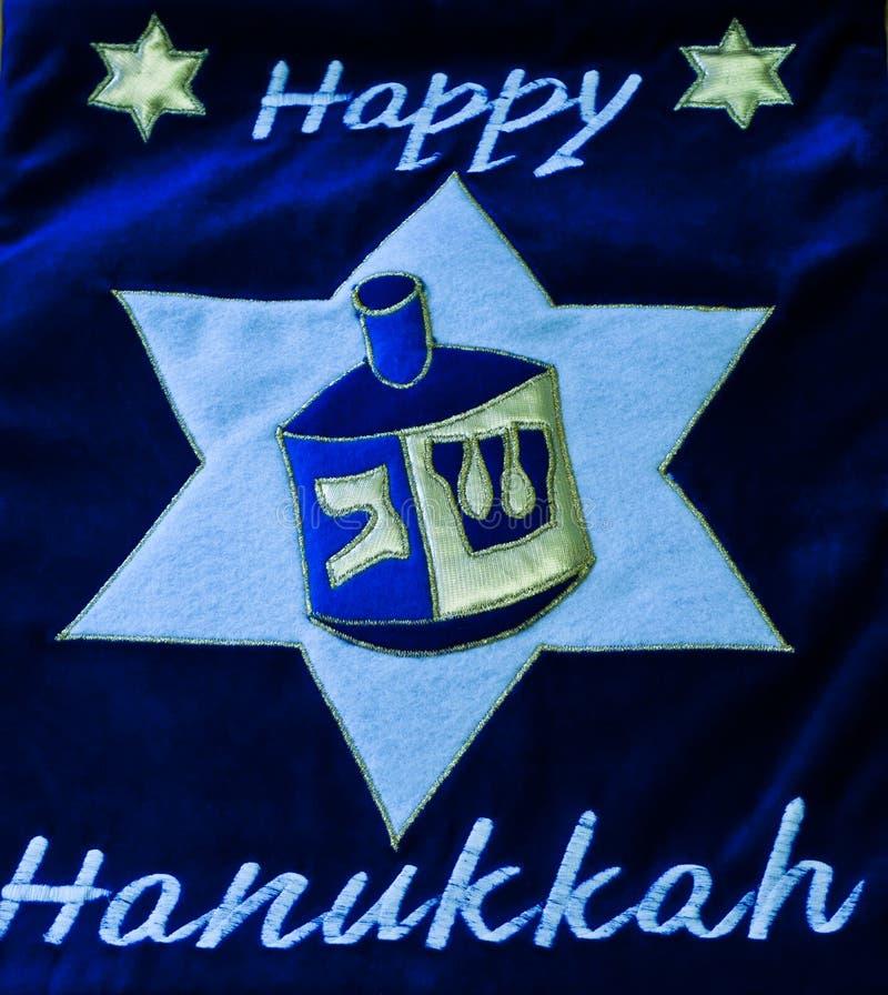Hanukkah o feriado judaico das luzes fotografia de stock royalty free