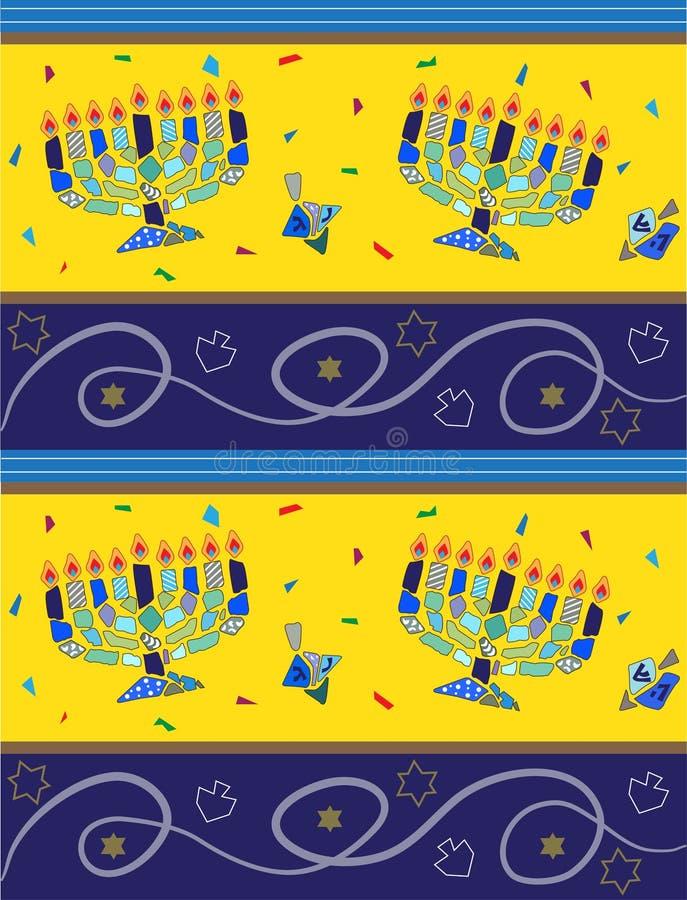 Download Hanukkah Pattern stock vector. Illustration of dreidel - 32746248