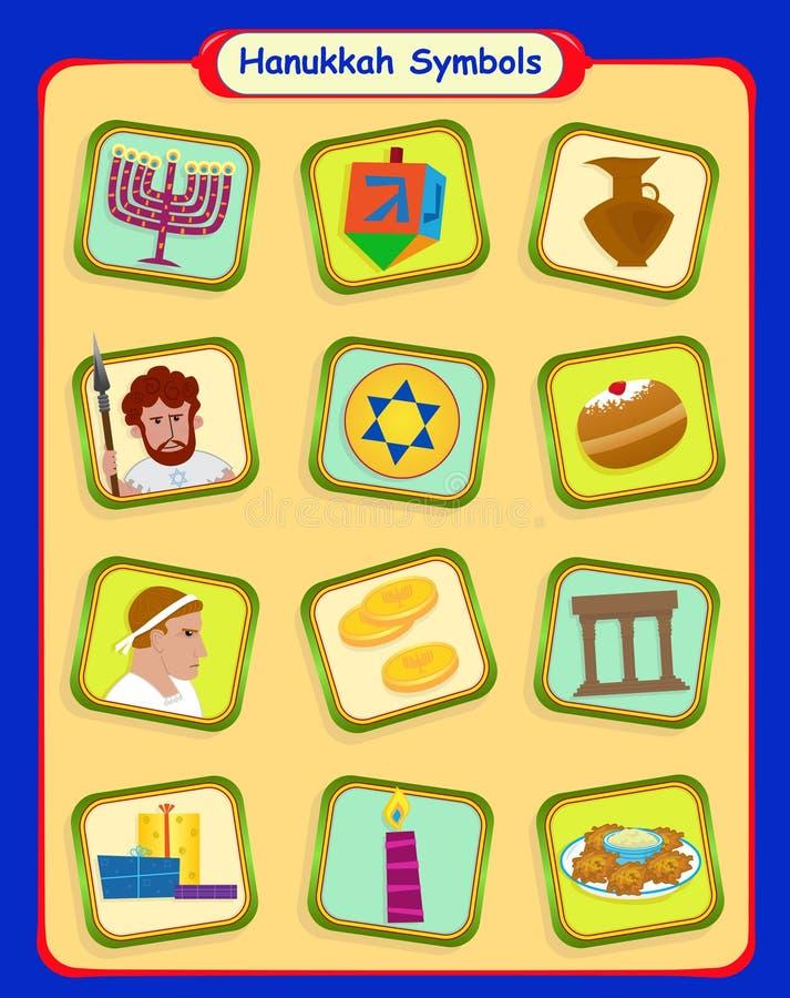 Hanukkah symbole
