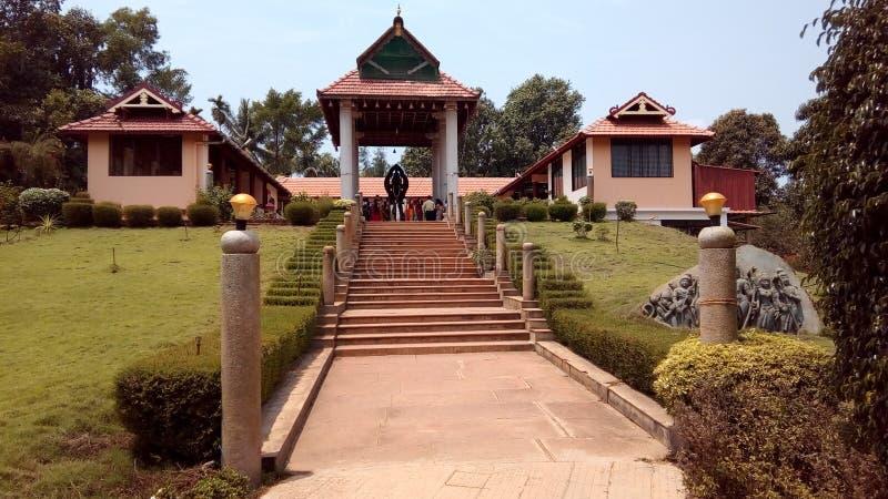 Hanumagiri tempel arkivbilder