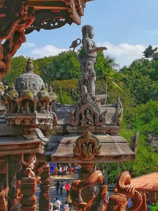 Hanuman fotografia stock