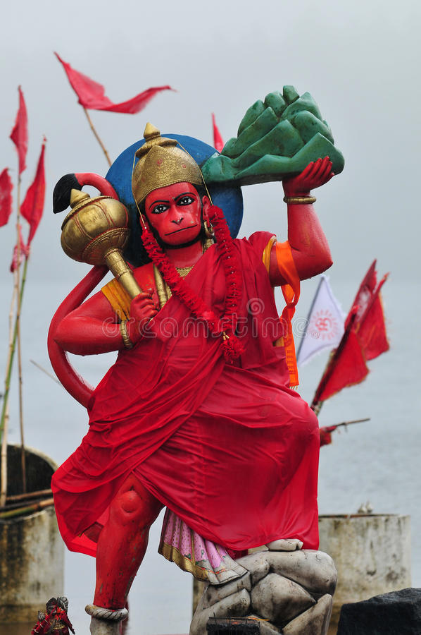 hanuman的神 库存照片