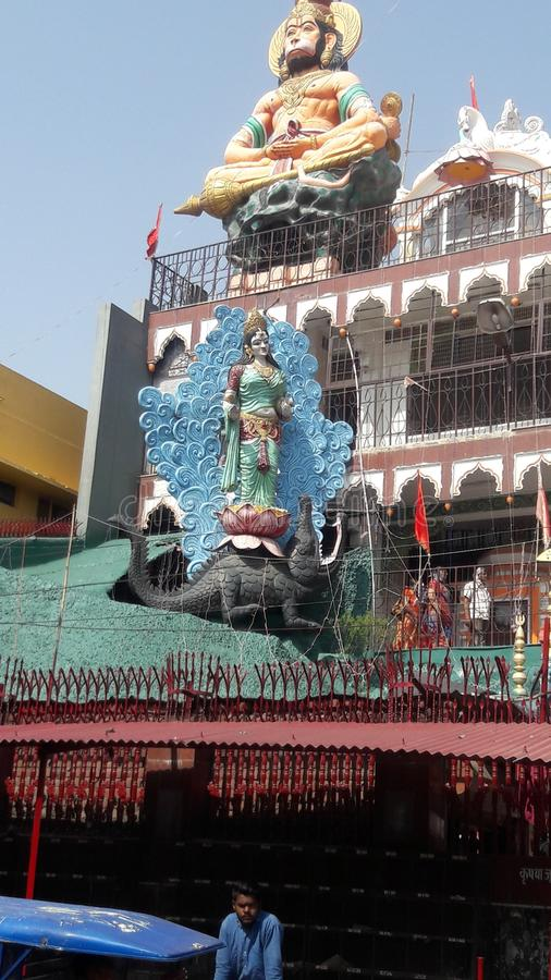 hanuman świątynia obraz stock