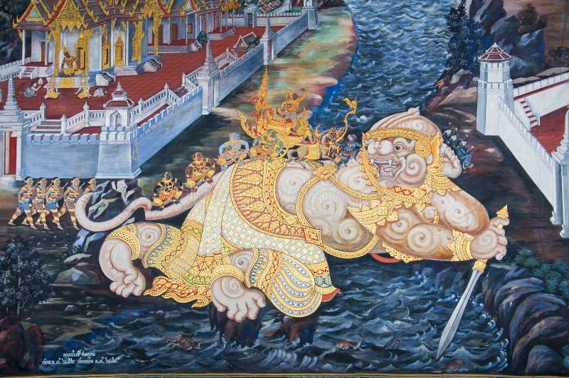 Hanuman image stock