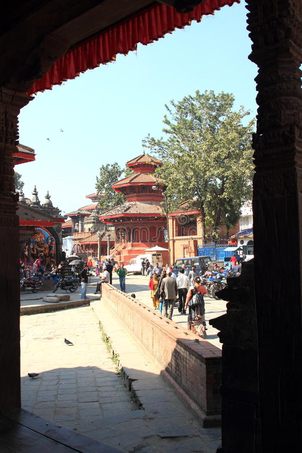 Hanuman Dhoka-2. obraz royalty free