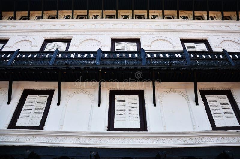 Hanuman Dhoka Basantapur Durbar fyrkant på Katmandu royaltyfri fotografi