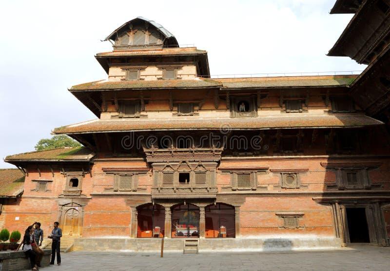 Hanuman Dhoka Durbar lokalizuje w środkowym ge i Kathmandu obrazy stock
