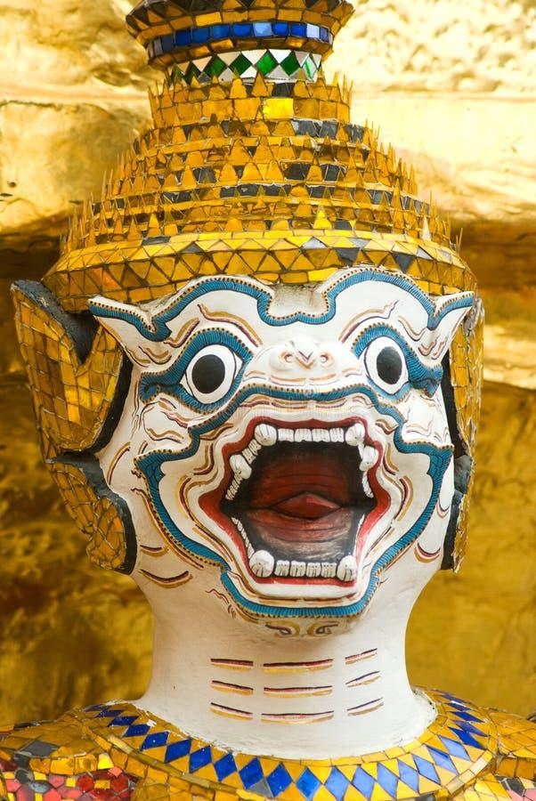 Free Hanuman Image At Wat Phra Kaeo In Bangkok Stock Image - 12361301