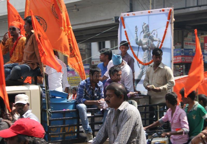 Download Hanuman Jayanthi-Shoba Yatra Redaktionell Bild - Bild av hinduism, lord: 37347891